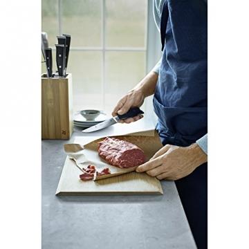 Fleischmesser im Einsatz