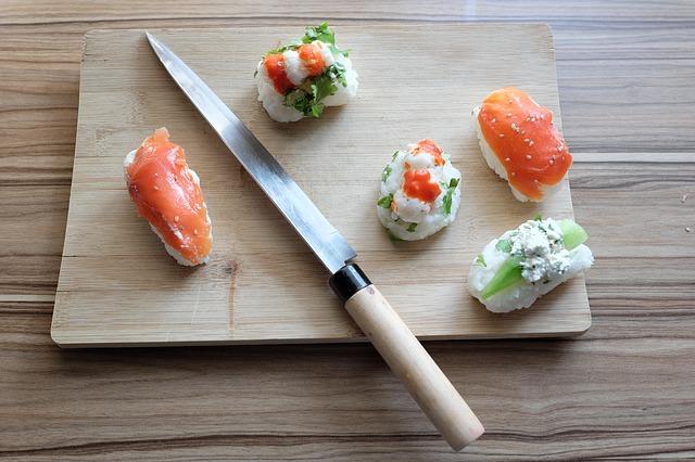 Messer, Fisch