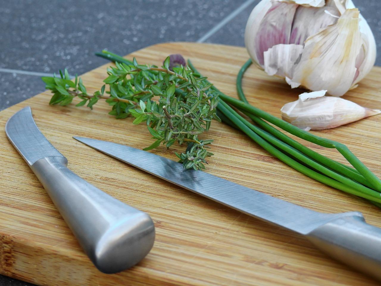 Kräuter, Messer